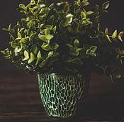 Цветы и флористика ручной работы. Ярмарка Мастеров - ручная работа Маленькие горшки для лесных жителей. Handmade.