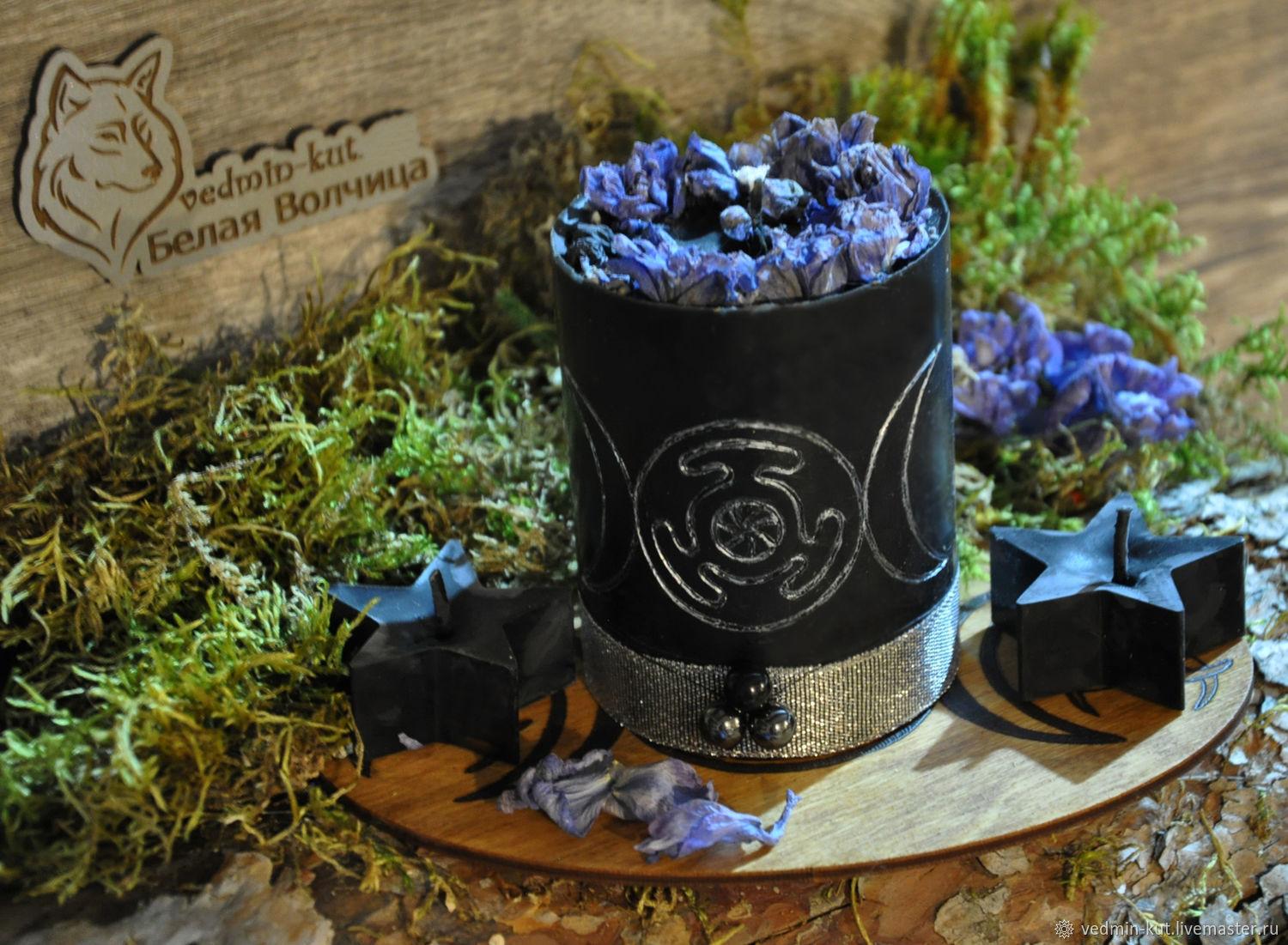 """Свеча-подношение """"Гимн Гекате"""", Ритуальная свеча, Муром,  Фото №1"""