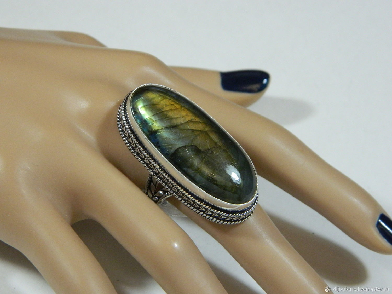 Ring Labradorite natural stone the universe, Rings, Saratov,  Фото №1