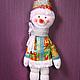 """Куклы и игрушки ручной работы. Набор для шитья """"Снеговик"""" Модное Хобби. Модное Хобби. Интернет-магазин Ярмарка Мастеров."""