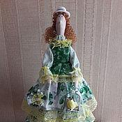 Куклы и игрушки ручной работы. Ярмарка Мастеров - ручная работа Тильда с канарейкой. Handmade.