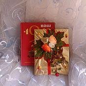 """Сувениры и подарки ручной работы. Ярмарка Мастеров - ручная работа Подарок """"Книга """"Год Рождения"""". Handmade."""