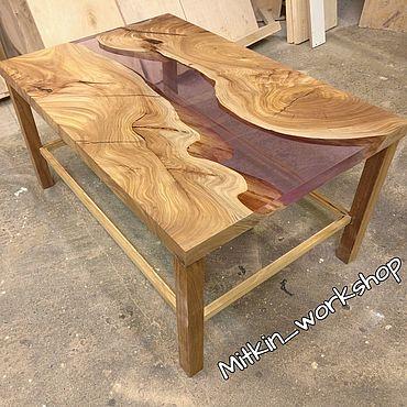 Для дома и интерьера ручной работы. Ярмарка Мастеров - ручная работа Стол река. Handmade.