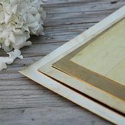 Заготовки для украшений ручной работы. Ярмарка Мастеров - ручная работа Латунь листовая. Handmade.