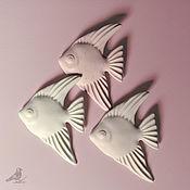 Украшения handmade. Livemaster - original item Pin brooch: porcelain brooch