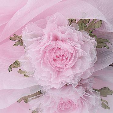 Свадебный салон ручной работы. Ярмарка Мастеров - ручная работа Нежный розовый пион. Handmade.