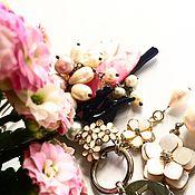 """Украшения ручной работы. Ярмарка Мастеров - ручная работа """"Сакура rose"""". Handmade."""