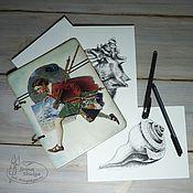 Канцелярские товары ручной работы. Ярмарка Мастеров - ручная работа Планшет для художника с наполнением (фанера 4 мм). Handmade.