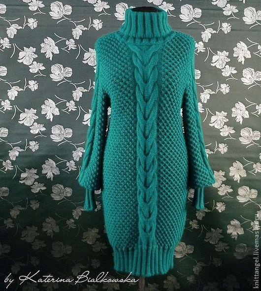 """Платья ручной работы. Ярмарка Мастеров - ручная работа. Купить Платье """"Jesse"""". Handmade. Морская волна, платье на заказ"""