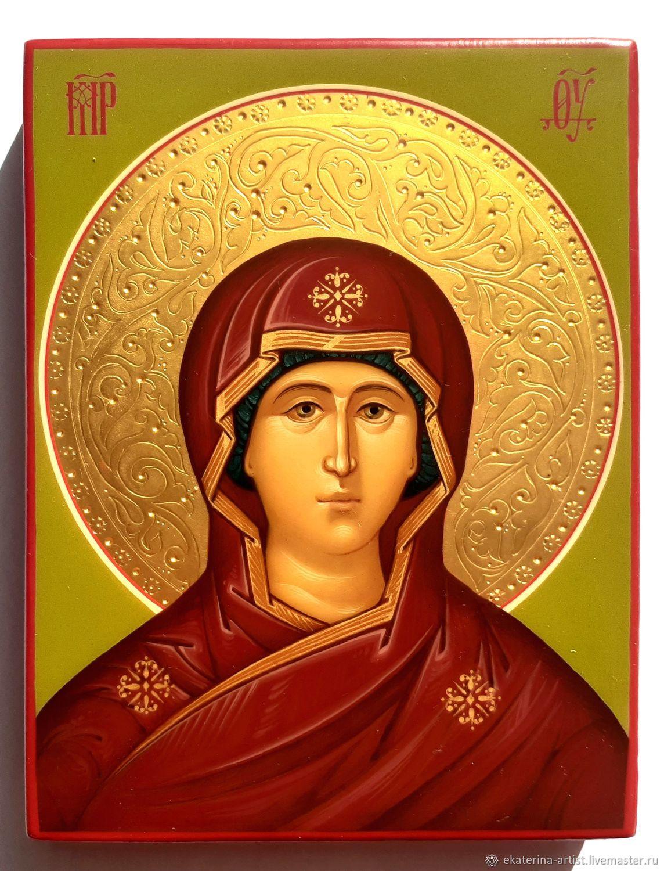 Икона: Богородица (Оплечная), Иконы, Иваново,  Фото №1