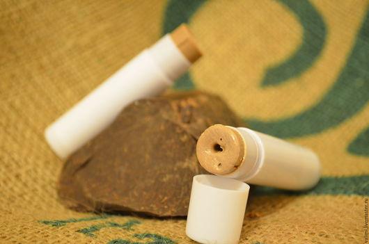 """Бальзам для губ ручной работы. Ярмарка Мастеров - ручная работа. Купить Бальзам для губ """"Шоколадный оттенок"""". Handmade. Бежевый, бальзам"""