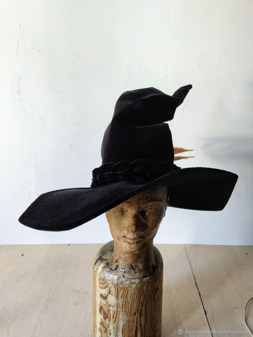 Hat of the sorceress ' Minerva», Carnival Hats, St. Petersburg,  Фото №1