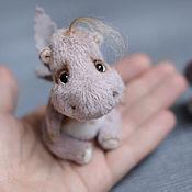 Куклы и игрушки ручной работы. Ярмарка Мастеров - ручная работа Бегемотик Мумми. Handmade.