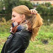 Аксессуары handmade. Livemaster - original item Clamp-transformer unisex Italian wool. Handmade.