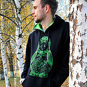 Одежда handmade. Livemaster - original item Sweatshirt with dolls. Handmade.