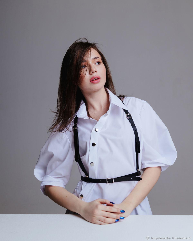 Асимметричная блузка-рубашка, Блузки, Санкт-Петербург,  Фото №1