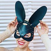 Субкультуры handmade. Livemaster - original item Mask black leather