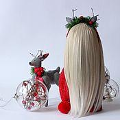 Куклы и игрушки ручной работы. Ярмарка Мастеров - ручная работа Анна и Рудик. Handmade.