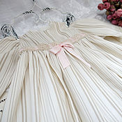 Одежда для кукол ручной работы. Ярмарка Мастеров - ручная работа Платье для антикварной куклы. Handmade.