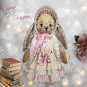 Куклы и игрушки handmade. Livemaster - original item Bunny plush Leia hare Teddy fur toy. Handmade.