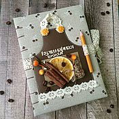Книги для рецептов ручной работы. Ярмарка Мастеров - ручная работа Кулинарная книга. Handmade.