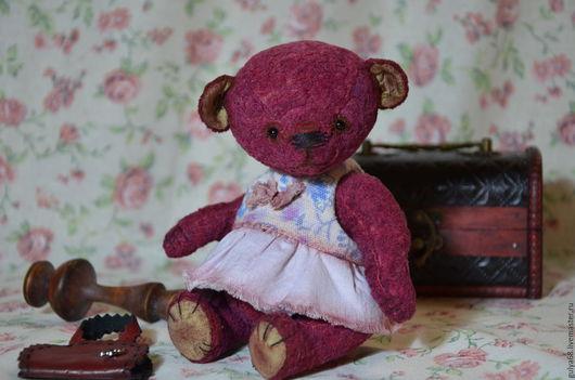 """Мишки Тедди ручной работы. Ярмарка Мастеров - ручная работа. Купить """"Бианка"""". Handmade. Винтажный, подарок на любой случай, шплинты"""