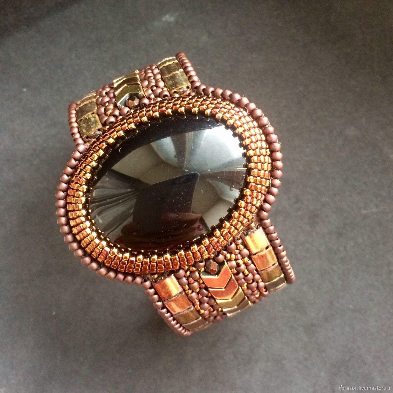 Embroidered bracelet ' Senorita', Hard bracelet, Kazan,  Фото №1