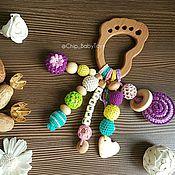 Подарки к праздникам ручной работы. Ярмарка Мастеров - ручная работа Грызунок Фиолет. Handmade.