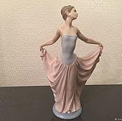 Предметы интерьера винтажные ручной работы. Ярмарка Мастеров - ручная работа Продано LLADRO фарфоровая статуэтка 5050 Танцовщица. Handmade.