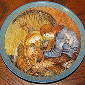 Винтаж handmade. Livemaster - original item Great plates