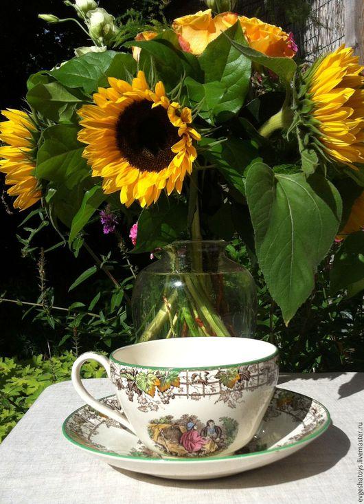 Винтажная посуда. Ярмарка Мастеров - ручная работа. Купить Чашка для мюслей, Англия, Spode Byron, 60 -е гг. Handmade.