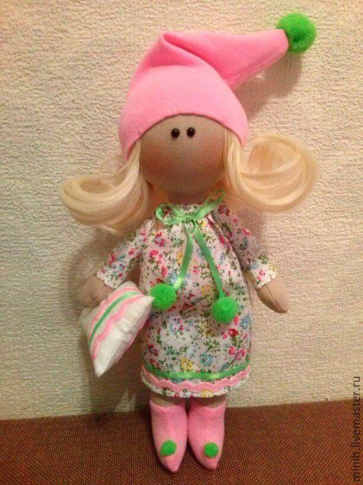 Коллекционные куклы ручной работы. Ярмарка Мастеров - ручная работа. Купить Соня Игровая кукла. Handmade. Разноцветный, кукла интерьерная