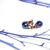 """Украшения ручной работы. Ярмарка Мастеров - ручная работа Серьги """"Виолетта"""". Handmade."""