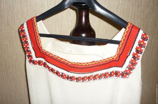 Одежда. Ярмарка Мастеров - ручная работа. Купить . Платье 50-х годов.. Handmade. Комбинированный, винтаж, натуральные ткани