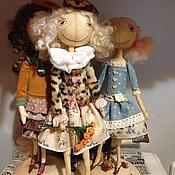 Куклы и игрушки ручной работы. Ярмарка Мастеров - ручная работа Кукла тыквоголовка Маркиза). Handmade.