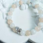 Украшения handmade. Livemaster - original item Lovely wife bracelet, aventurine, silver.. Handmade.
