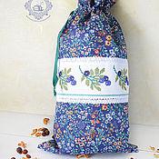 Для дома и интерьера handmade. Livemaster - original item Pouch for herbs, bread, mushrooms.... Handmade.