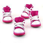 Материалы для творчества ручной работы. Ярмарка Мастеров - ручная работа Розовые кроссовки для куклы2. Handmade.