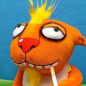 Куклы и игрушки handmade. Livemaster - original item The peace pipe. Soft toy plush red cat Vasi Lozhkina. Handmade.
