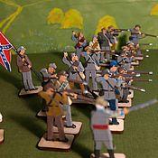 Куклы и игрушки handmade. Livemaster - original item The civil war in America. Confederates firing. Handmade.