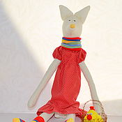 """Куклы и игрушки ручной работы. Ярмарка Мастеров - ручная работа Игрушка Тильда """"Лисонька"""". Handmade."""