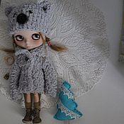 Куклы и игрушки ручной работы. Ярмарка Мастеров - ручная работа Шапка+шубка для Блайз №2. Handmade.