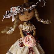 Куклы и игрушки handmade. Livemaster - original item Doll attic Girl. Handmade.