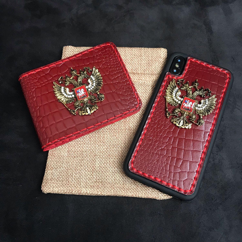 cd051772406 Купить Комплект «Women Style Для телефонов ручной работы. Комплект «Women  Style G1» из натуральной кожи под кайман ...