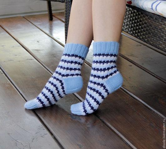 Носки, Чулки ручной работы. Ярмарка Мастеров - ручная работа. Купить Носки вязанные женские, носки ручная вязка, носки ажурные. Handmade.