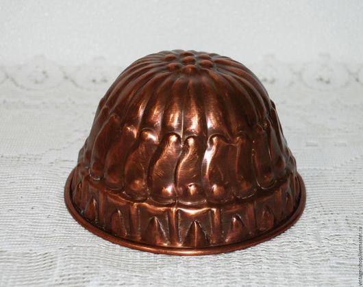 Винтажная посуда. Ярмарка Мастеров - ручная работа. Купить Медная форма для выпечки, кекс, винтаж, Германия. Handmade. Рыжий, для интерьера