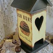 """Для дома и интерьера ручной работы. Ярмарка Мастеров - ручная работа чайный домик """"Bon bon"""". Handmade."""