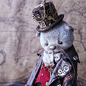 Куклы и игрушки handmade. Livemaster - original item Teddy: Brian the cat. Handmade.