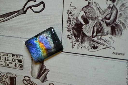 Для украшений ручной работы. Ярмарка Мастеров - ручная работа. Купить Лабрадорит спектролит. Кабошон 33 Х 25 Х 5. Handmade.