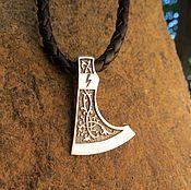 Украшения handmade. Livemaster - original item Talisman/Pendant Axe of Perun of silver 925. Handmade.